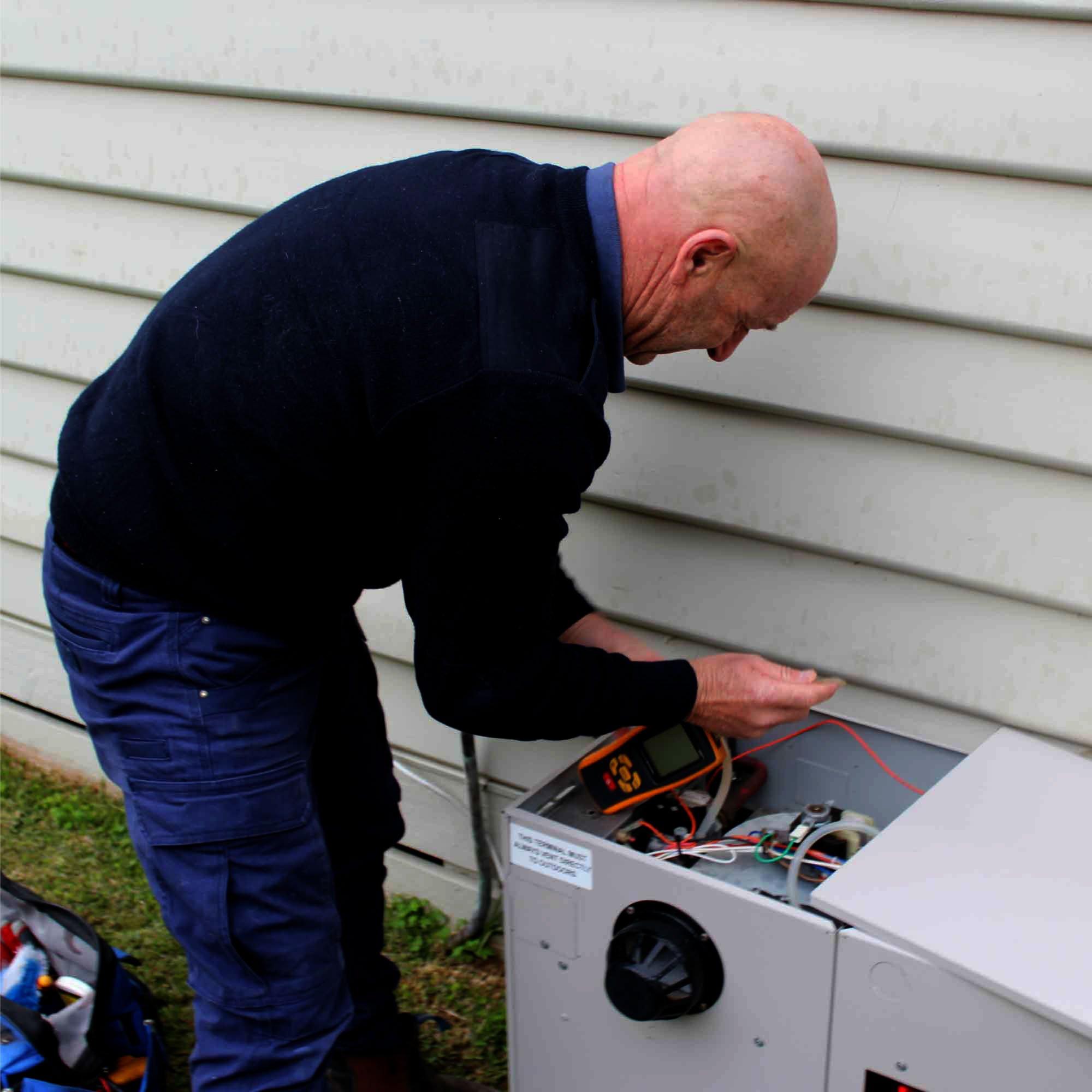 Its A Gas Plumbing repairing a broken gas system